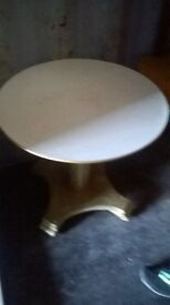 white topped coffee table