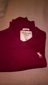 Abercrombie&Fitch Red jumper