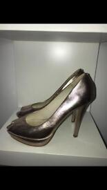 Ted baker rose gold heel