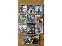 PS3 PLAYSTATION console, 2 wireless controllers and 48 top games