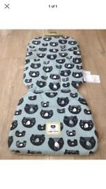 Mamas and papas three bears liner and chest pads