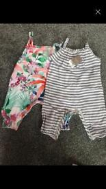 Baby next jumpsuits NEW