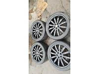 """22"""" overfinch land Range Rover alloy wheels tyres sport discovery vogue 5x120"""