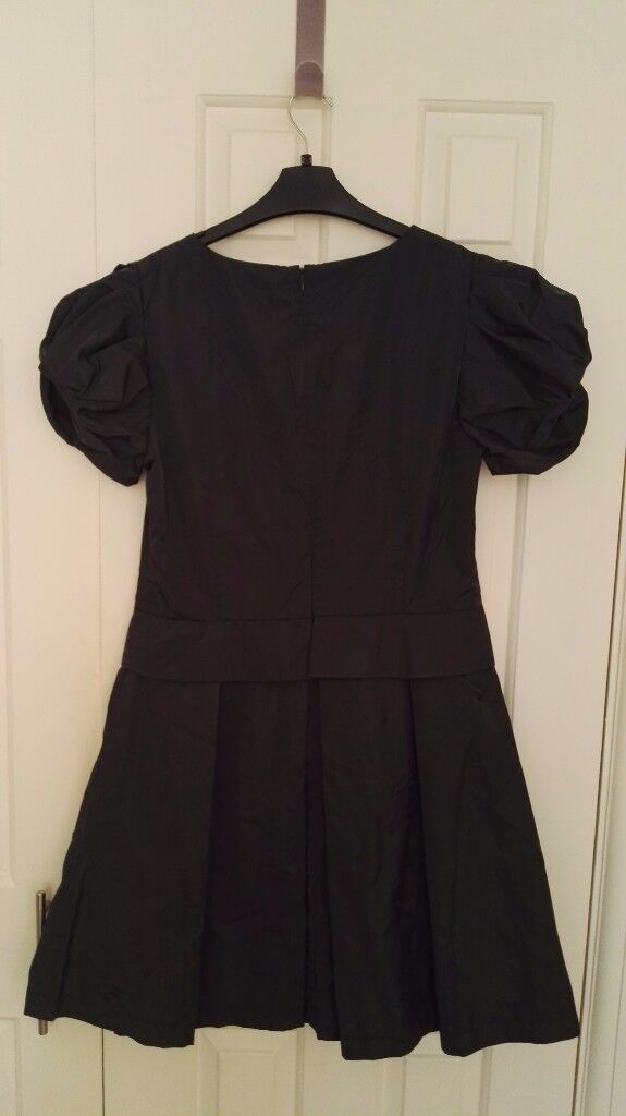 rarely used navy blue dress, size 14