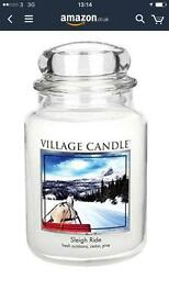 Village Candles - Large Jars - NEW ( £15 Each )