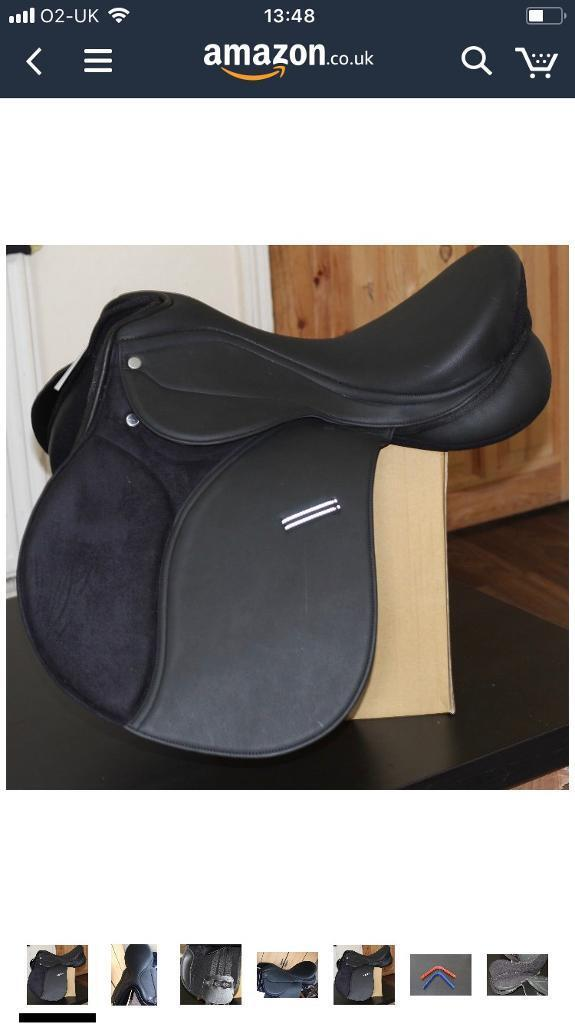 """14"""" pony saddle"""