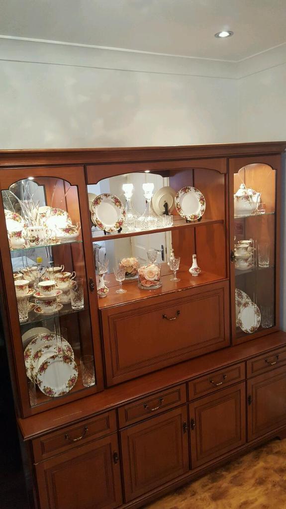 500 Ono Wooden Showcase Glass Doorirror