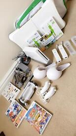Wii Console/Wii Fit/Games and Accessories