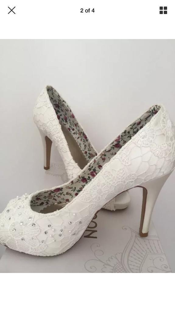 Monsoon Bridal Shoes Brand New Size 5