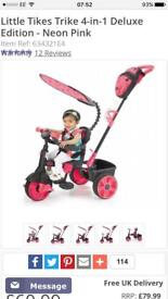Little tikes trike - 4 in 1 deluxe edition - pink