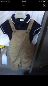 Boys next outfit 0-3 months