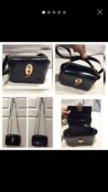 Nazareno Gabrielli black Leather square crossbody bags rrp £365