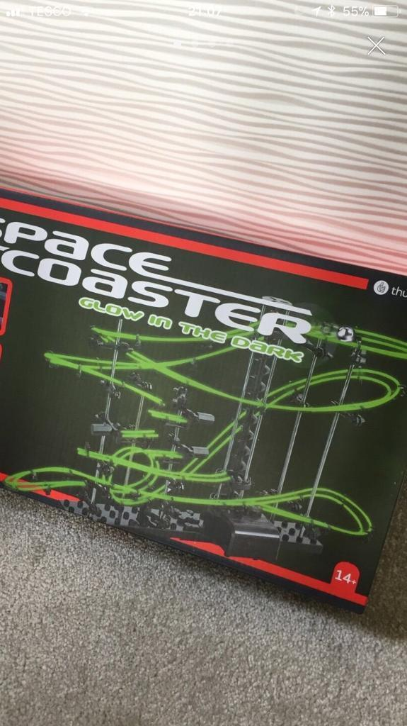 Space coaster age 14+