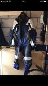 Motor Bike leathers (all in one)