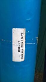 500 gauge membrane, 2m x 100m rolls