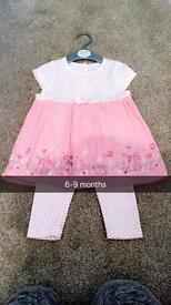 Baby girl clothing. Various sizes