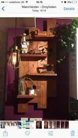 Handmade wooden shelves/wall hang