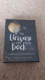 The universe has your back card deck NEW