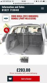 Dog Guard and Boot Divider to fit all Ford Kuga 2013+