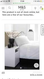 Marks & Spencer double bed - immaculate