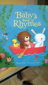 Usborne baby's book of rhymes