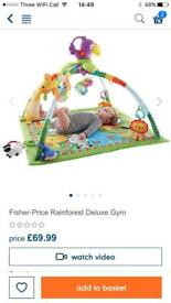 Fisher Price gym