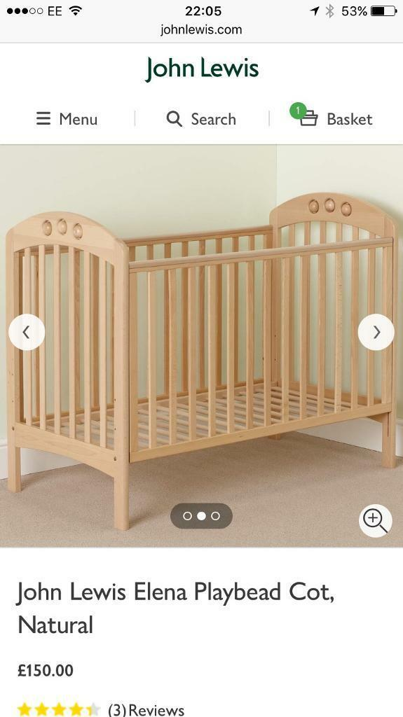 Cot Bed Sale John Lewis