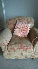 2 seater settee and 1 chair