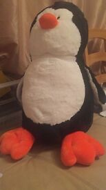 Clintion Penguin soft toy large 64cm