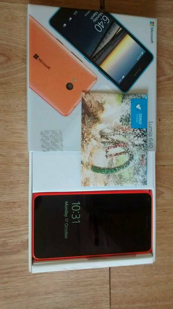 Microsoft lumia 640 lte mobile phonein Stanley, County DurhamGumtree - Microsoft lumia 640 lte windows mobile phone, boxed, very good condition, dual cameras, with charger, on Tesco, ideal Christmas gift