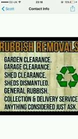 Waste removal & tree cutting removal same day free quote 07446258964
