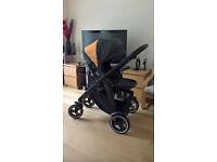 Baby Pram / Pushchair / Carry cot- Graco Evo XT travel system