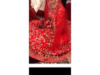 INDIAN BRIDAL LENGHA. GOWN.
