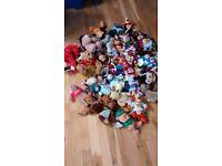 35-40 soft toys
