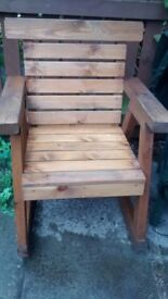 Garden Rocker Chair