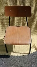 Old vintage school chair (A Shepard product)