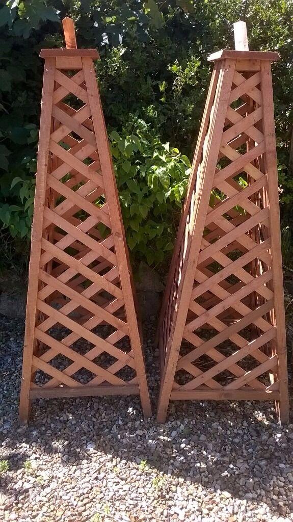 New Trellis Obelisks And Assorted Pieces