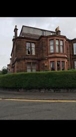 Large double room to let - desirable part of dennistoun