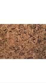 3 brand new and polished Venetian Gold Granite kitchen worktops ready to install