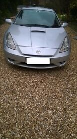 Toyota Celica 1.8 coupe silver 2004 only 45000 miles!