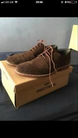 Brown dressed shoes