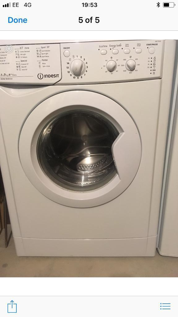 Washing Machine Indesit