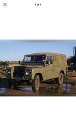 Land Rover 109 Pick Up Canvas Soft Top Khaki Green