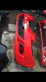 2006 seat Leon genuine front bumper red black rear also available can post