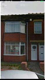 2 bed ground floor flat.