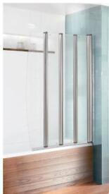 Simpson's Foldaway bath/shower screen
