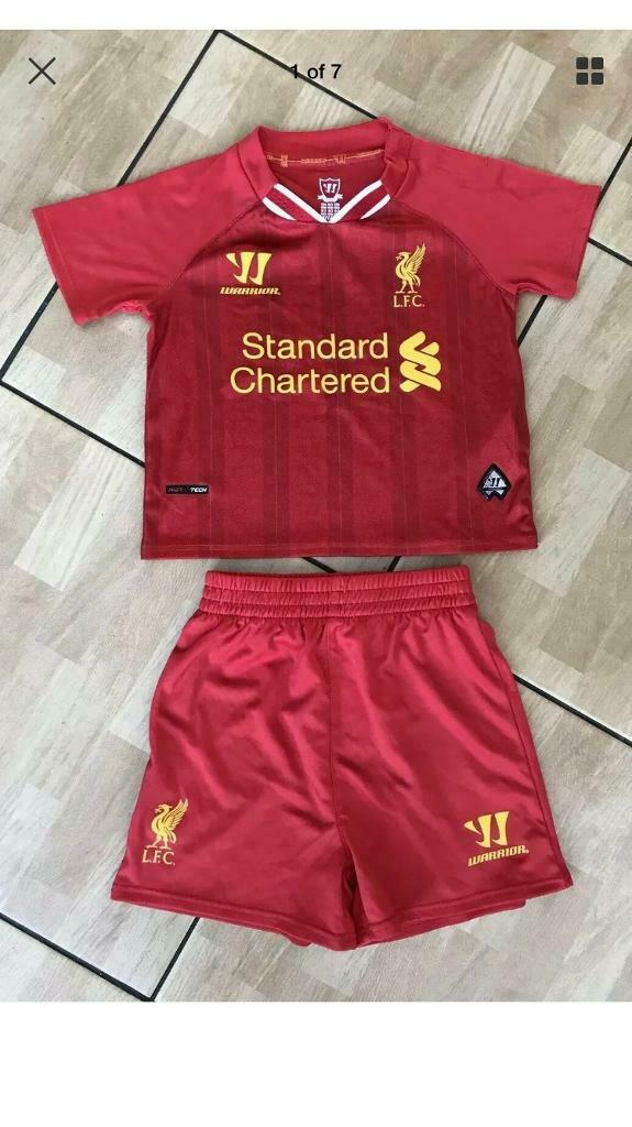 a57290e4389 Liverpool Football Club LFC Babies Shirt Shorts set By Warrior age 12-18  months