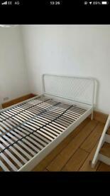 Kingsize bed frame dismantled £45