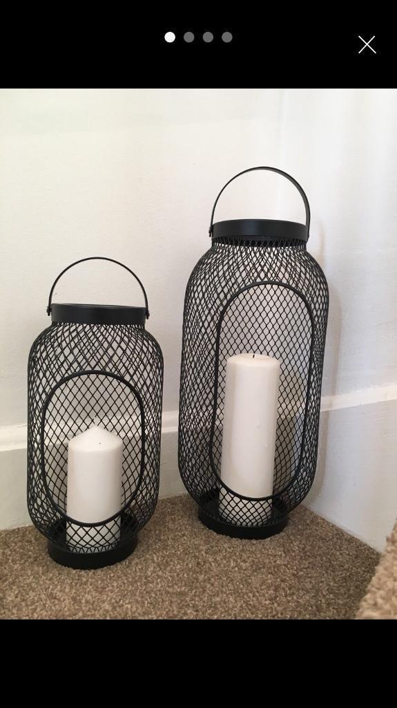 Ikea Candle lanterns x 2
