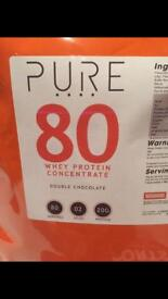 Pure whey protein concentrate 80 2 kg
